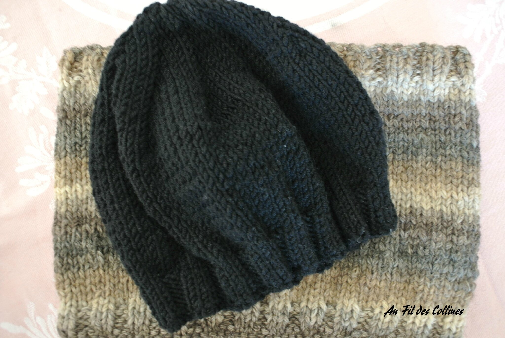 126ccb1767df Tuto tricot bonnet bonnet laine made in france   Arts4a