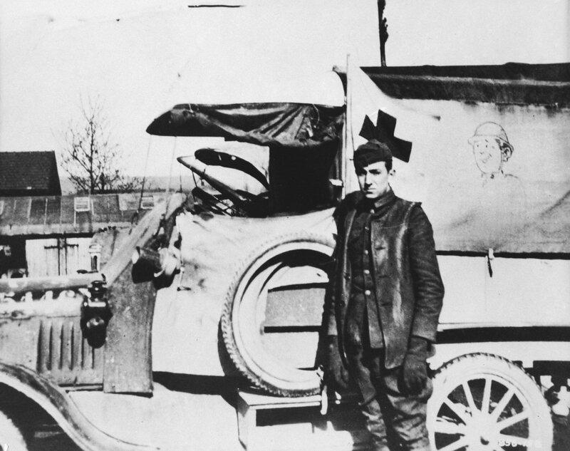 Walt en 1919.