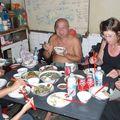 Un bon repas préparé par la maman de Huoy