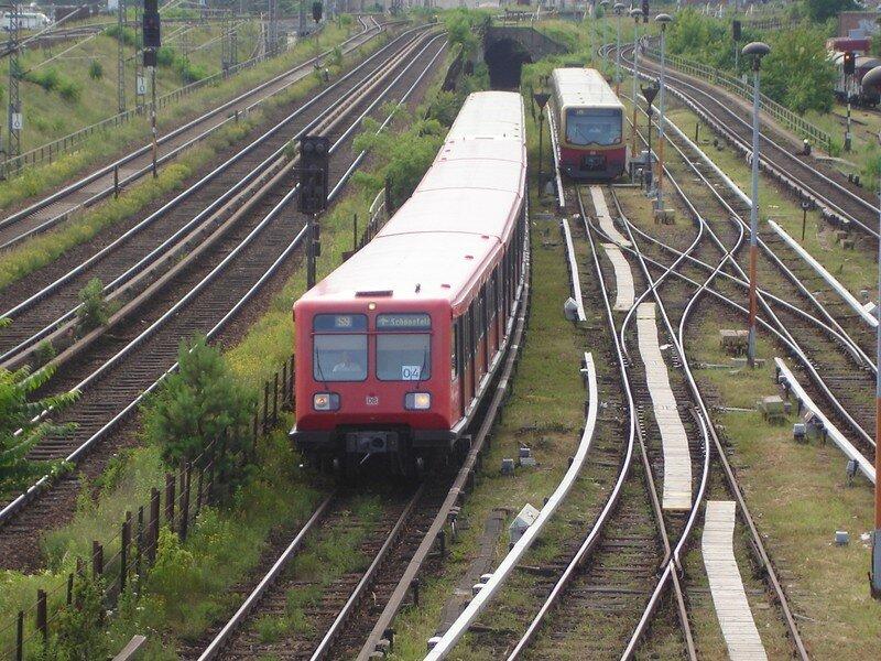 Arrivée train DB et S-Bahn