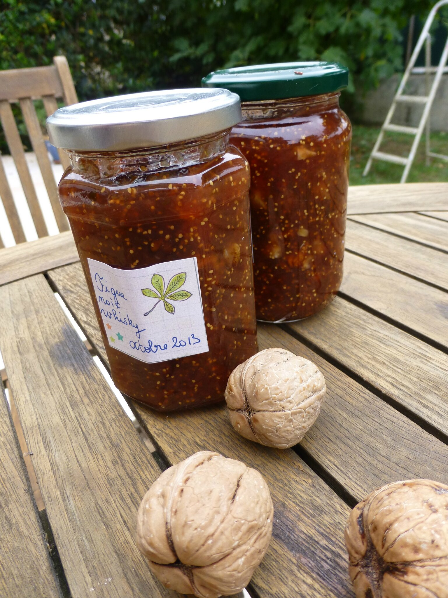 confiture de figues au whisky