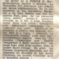 Sud-Ouest, 19 novembre 1968, même article plus grand