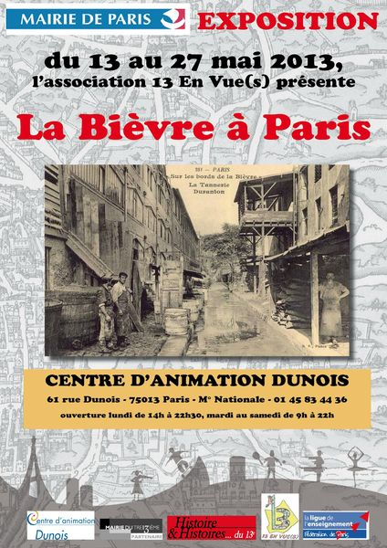 Exposition Bievre Centre Dunois leger