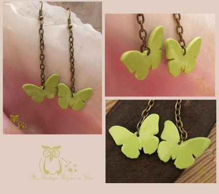 Boucles papillon ANIS
