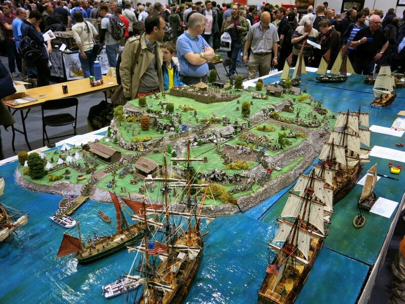 Essex Gamesters - Fort George 1779 - AWI (10)