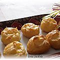Gougères au fromage