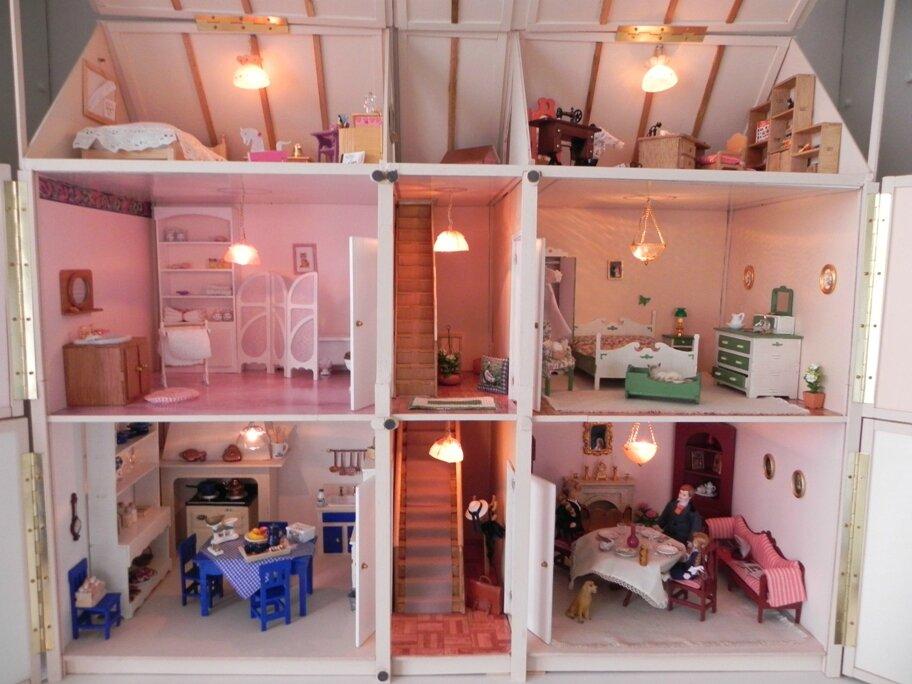 Une maison dans la maison l 39 isl tr sor for Construire une maison miniature