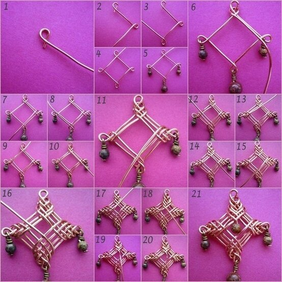 Diy accessoires et bijoux tome 7 safamod bijoux for Very simple wire craft projects