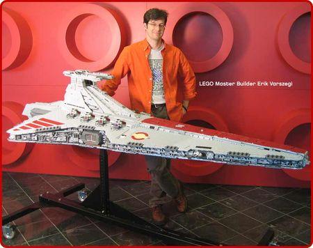 M ga croiseur de la r publique l go star wars - Croiseur star wars lego ...