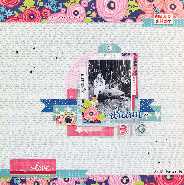 Dream big Layout by Anita Bownds American crafts (1)