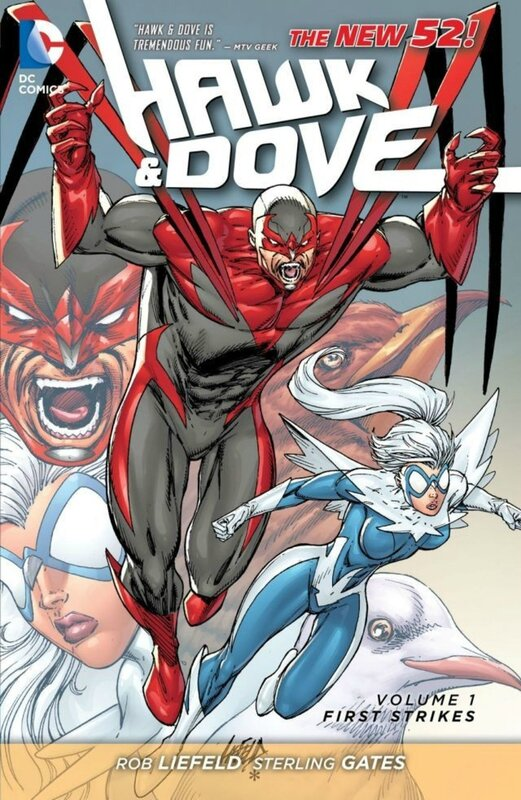 hawk and dove vol 1 first strikes TP