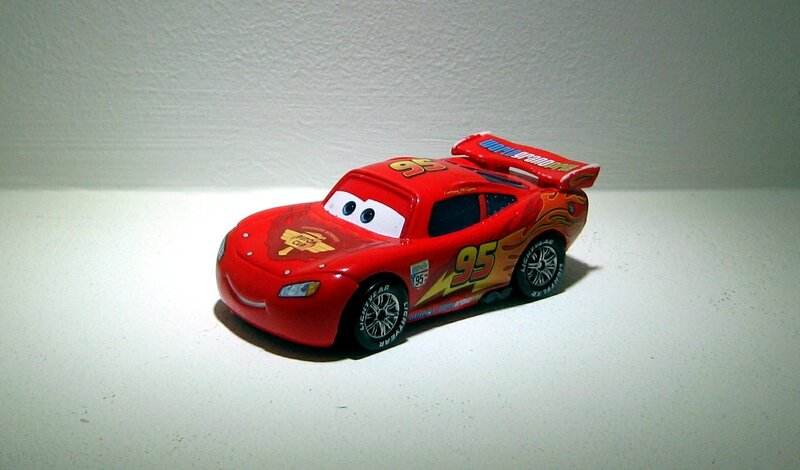 Flash McQueen (cars 2)(Mattel-Cars)