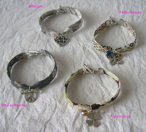 Kits bracelets Liberty à faire soi,même