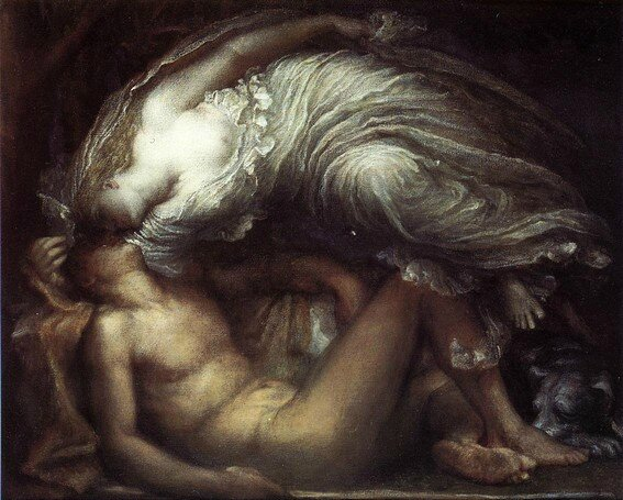 Endymion by George Frederic Watts - 1872