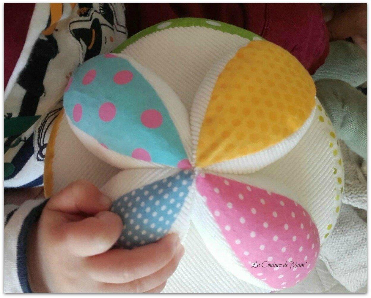 Balles de préhension Montessori (1)