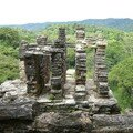 Bonampak - View of jungle from behind Building 5