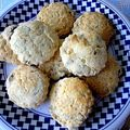 Scones raisins zeste d'orange