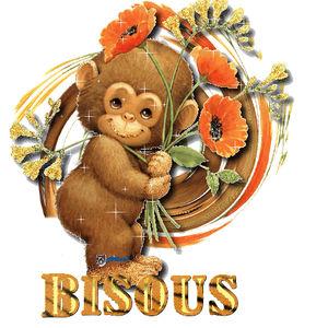 bisous_singe