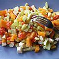 Salade façon tartare.