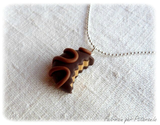 Collier bouchée choco (1)