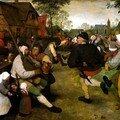Danse des paysans - Bruegel