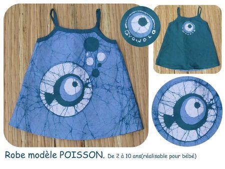 robe poisson bleu BLOG