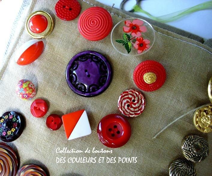 12 bis boutons plastique détails bis