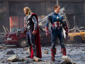 The_Avengers_Thor_and_Captain_America