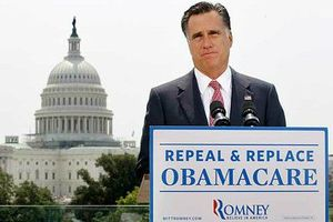Romney against Obamacare