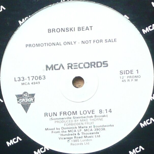 Run From Love 12'' US promo
