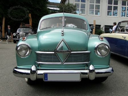 borgward hansa 1800 berline, 1952 54 4