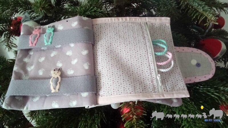 pochette barrettes cadeau anniv Constance 2