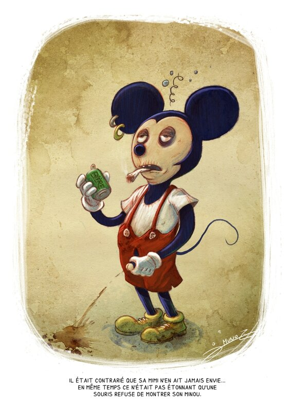 mickey copie