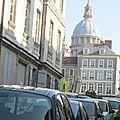 Notre Dame vue de la rue du Puit d'Amour.