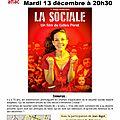 La sociale : 13 décembre - 20h30 - salle agnès varda a juvisy sur orge