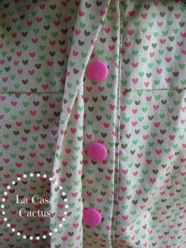 Cafe dress-Sew Straight and Gather, sewn by La Casa Cactus