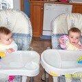 La vie avec des jumelles