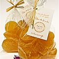..cadeaux gourmands 2011 : pâtes de fruits à l'orange (à l'agar agar)..