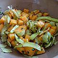 Salade fraicheur au melon