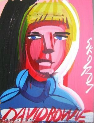 STEVE KEENE David Bowie 2007 40 x 30