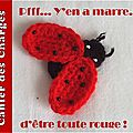 Serial Crocheteuse 141 : Coccinelle, nouvelle garde robe ?