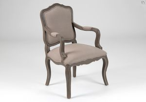 fauteuil taupe agnes