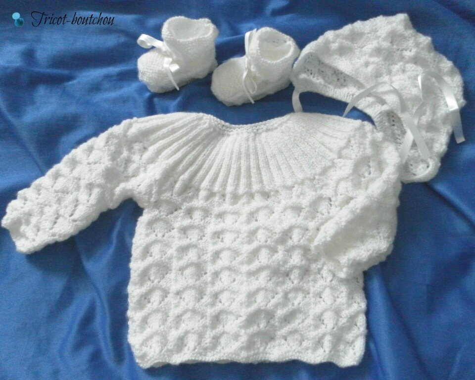 layette tricot bebe