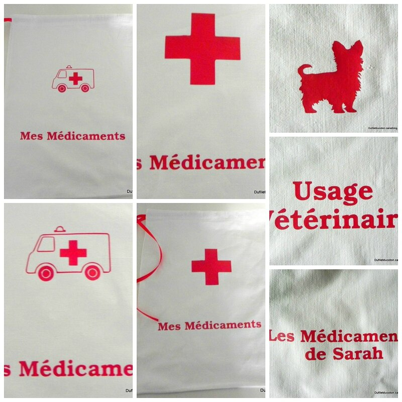 Collage medicaments