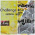 Challenge carterie- tag avril