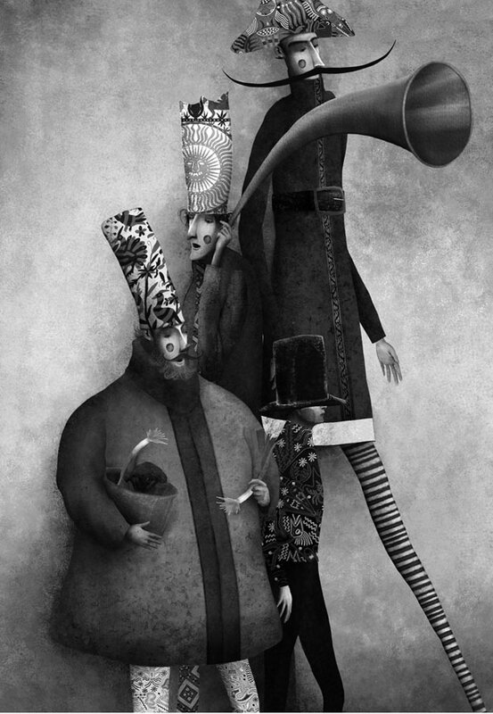 Gabriel Pacheco 1973 - Mexican Surrealist Visionary painter - Tutt'Art@ (10)