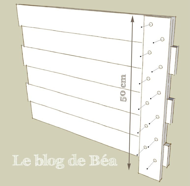 Top DIY : Carré potager en bois de palette - Le blog de Béa SO56
