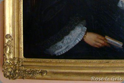 détail tableau Célina
