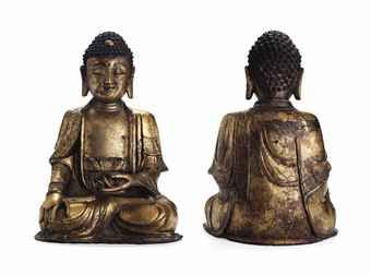 a_large_gilt_bronze_figure_of_buddha_ming_dynasty_d5623971h