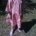 robe à fleurs 6 ans